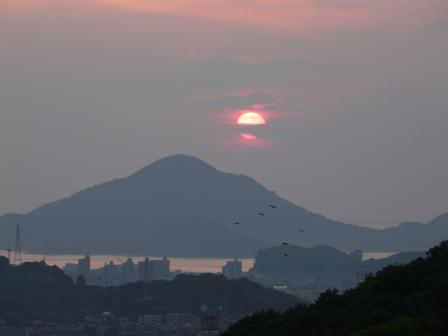 山頂広場からの夕景 4