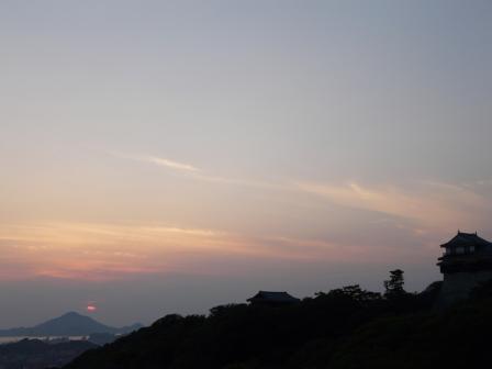 山頂広場からの夕景 5
