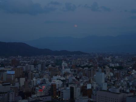 城山からの夕景 2