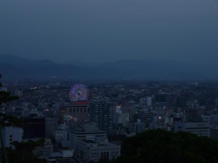お城山からの夕景 3