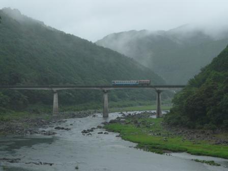 トロッコ列車 「清流しまんと号」 1