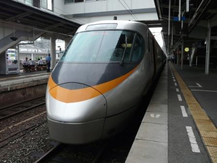 松山駅 8000系特急電車 1