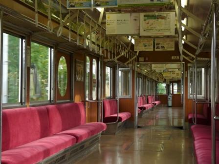 上田電鉄 7200系 「まるまどりーむ号」 車内 1