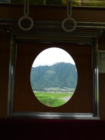 上田電鉄 7200系 「まるまどりーむ号」 車内 3