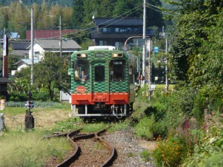 真岡鐵道 モオカ14形気動車 2