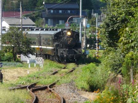 真岡鐵道 SLもおか号 1 (C12 66)