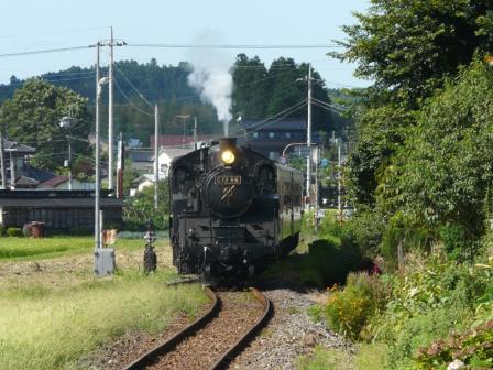 真岡鐵道 SLもおか号 2 (C12 66)