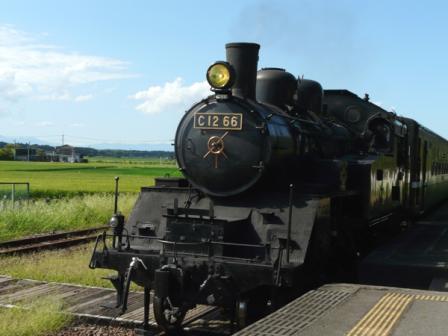真岡鐵道 SLもおか号 3 (C12 66)