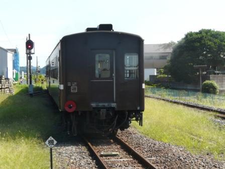 真岡鐵道 SLもおか号 7 (モハ50形客車)
