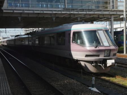 JR勝田駅 リゾートエクスプレスゆう
