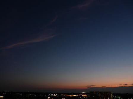 つくば市 夕景 2
