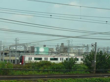新幹線 車窓風景 3