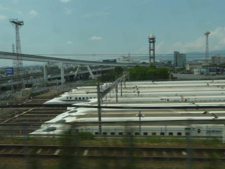 新幹線 車窓風景 5 大阪車両所
