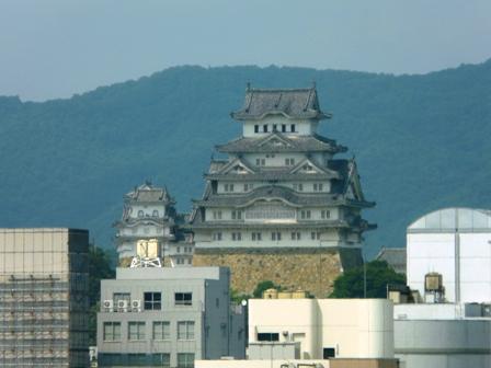 新幹線 車窓風景 6 姫路城