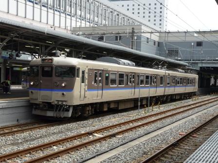 岡山駅 113系