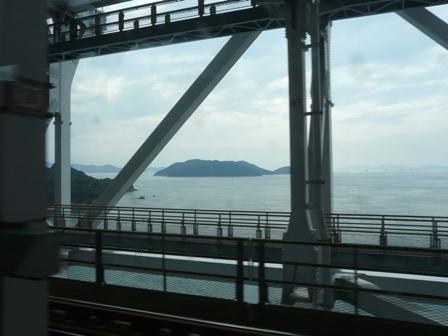 特急しおかぜ 車窓風景 1 瀬戸大橋