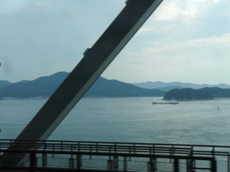 特急しおかぜ 車窓風景 2 瀬戸大橋