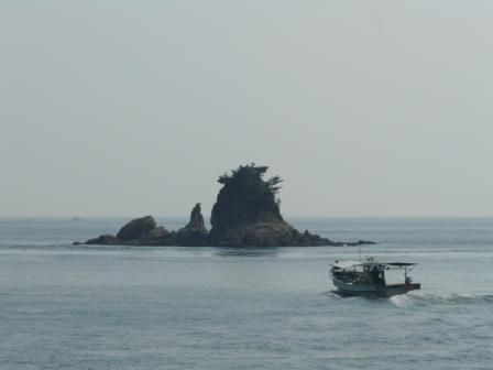 フェリーからの景色 1  ターナー島