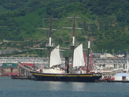蒸気帆船 「観光丸」 1