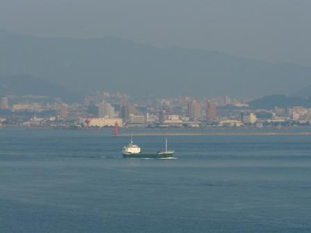 興居島から見た松山市街 1