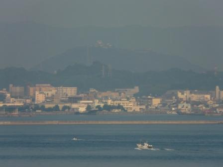 興居島から見た松山市街 2