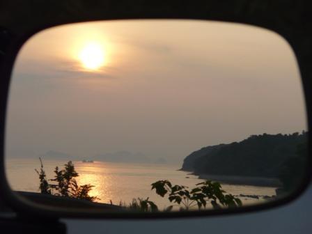 興居島 夕景 2