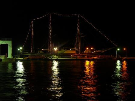 蒸気帆船 「観光丸」 2