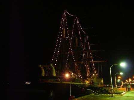 蒸気帆船 「観光丸」 3