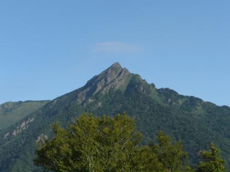 石鎚スカイラインからの 石鎚山
