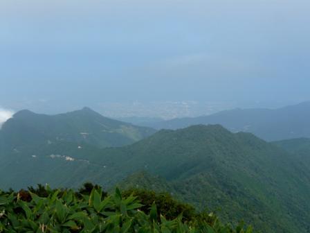 瓶ヶ森 山頂からの眺望