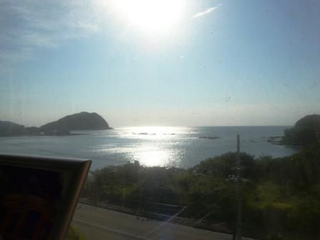 阿佐海岸鉄道 車窓から 1