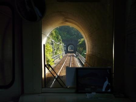 阿佐海岸鉄道 車窓から 2