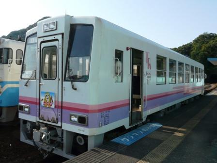 阿佐海岸鉄道・海部駅 高千穂復刻列車