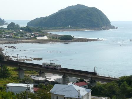 阿佐海岸鉄道 宍喰-海部間 高千穂復刻列車 1
