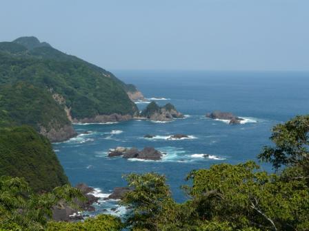 南阿波サンライン 千羽海崖 3