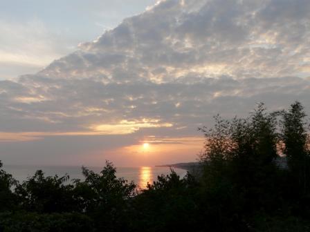 琴ヶ浜 夕景 1