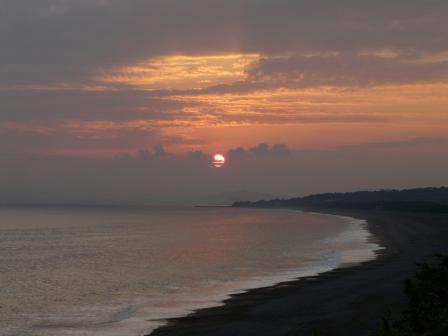 琴ヶ浜 夕景 3