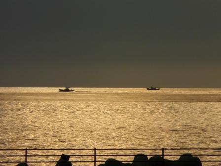 双海 夕景 2