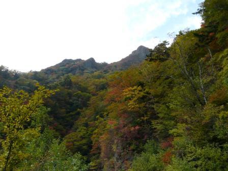 瓶ヶ森林道 紅葉 2