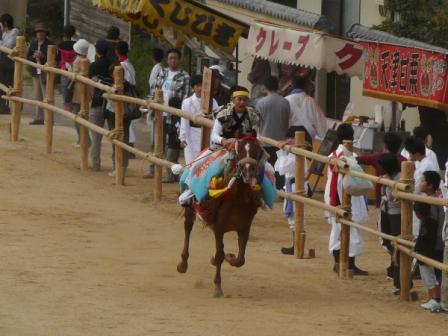 菊間祭り お供馬 1