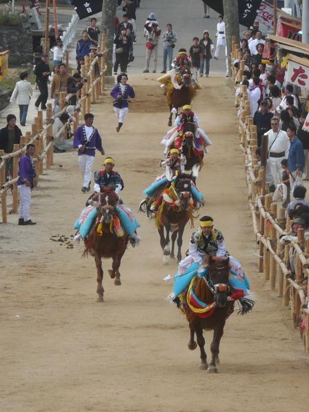 菊間祭り お供馬 2