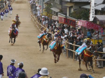 菊間祭り お供馬 3