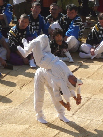 菊間祭り 獅子舞 3