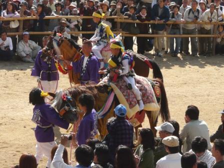 菊間祭り お供馬 7