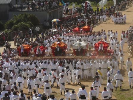 菊間祭り お神輿