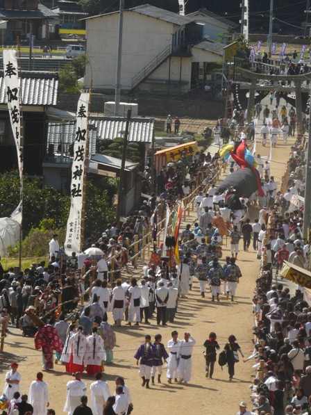 菊間祭り 神幸行列 1