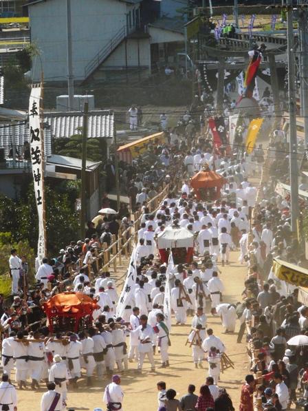 菊間祭り 神幸行列 2