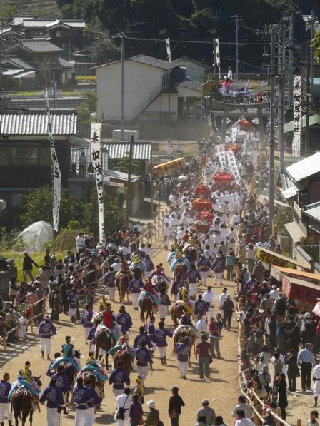 菊間祭り 神幸行列 3