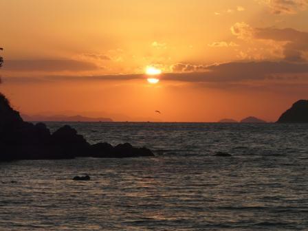 鴨池海岸 夕景 1