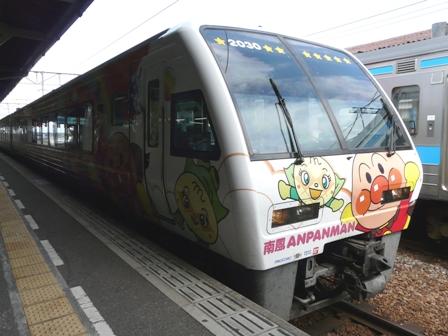 琴平駅 アンパンマン列車 2